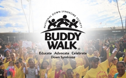 Sanders Roberts LLP partner Reginald Roberts, Jr. participates in the 2017 Buddy Walk