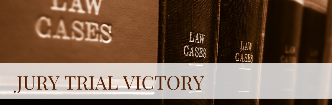 SR's Employment Team Secures Second Jury Trial Victory in a Month for Large Utility Company